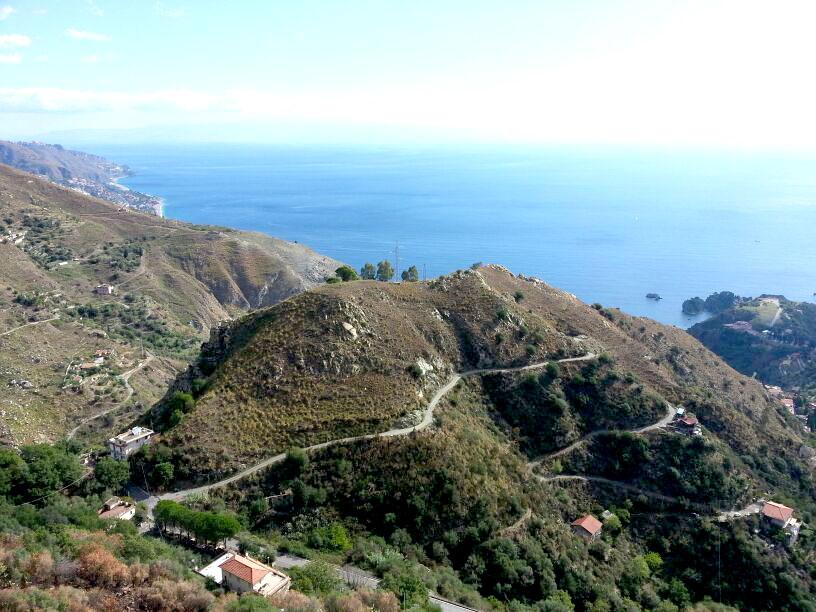 Castelmola Panoramic View